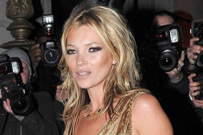 Kate Moss recurre al nitrógeno para eliminar la celulitis