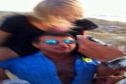 Laporta fotografiado `dándolo todo´ en una fiesta en Formentera