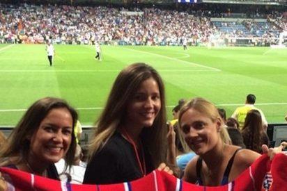 La victoria del Atlético de Madrid celebrada por las guapas novias de los futbolistas