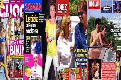 Eva González y Cayetano crucero del amor, Mª Teresa Campos halaga a Bigote y María Patiño operada solo de nariz
