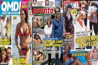 María Teresa Campos y Bigote Arrocet van viento en popa y Ana Obregón está cada día más espectacular
