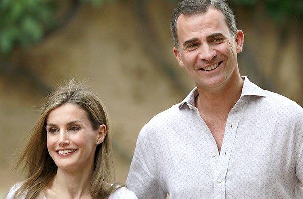 Los Reyes de España, dos más en un restaurante 'pijo' de Mallorca