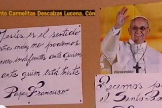 El Papa vuelve a telefonear a las carmelitas de Lucena