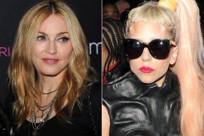 La musculosa Madonna dedica una canción 'ofensiva' a la excéntrica Lady Gaga