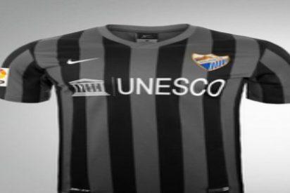 El Málaga presenta su segunda camiseta