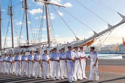 Descubiertos 127 kilos de cocaína en el buque escuela Juan Sebastián Elcano
