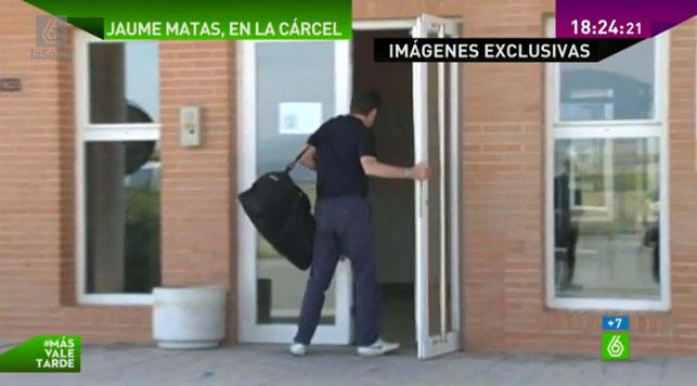 Jaume Matas juega al ping-pong en la cárcel junto al auditor de la quebrada Gowex