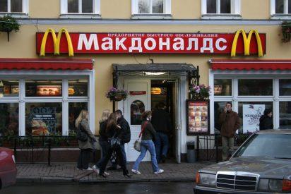 ¿Por qué cierran McDonald's en Rusia?