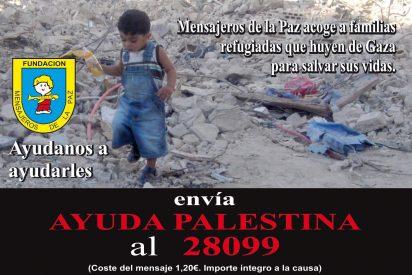 Mensajeros consigue repatriar a otros 14 niños de Gaza
