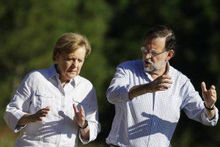 Merkel apoyará la candidatura de Guindos a presidente del Eurogrupo pero no dice ni 'mus' de Arias Cañete