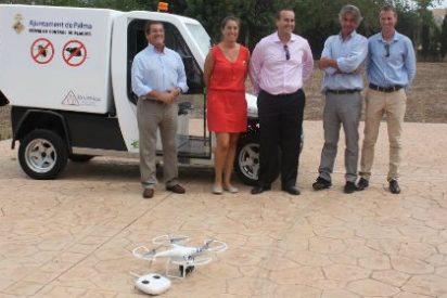 Cort apunta alto: un dron para detectar mosquitos y que no se le escape ni uno