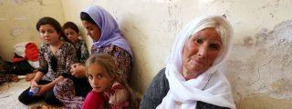 La desgarradora historia del niño yazidí abandonado en el desierto de Irak