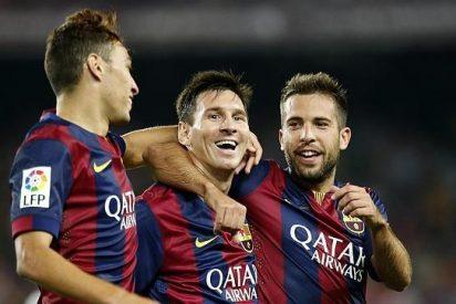 Leo Messi deja claro que sigue mandando en el Barça, que se estrena aplastando al Elche