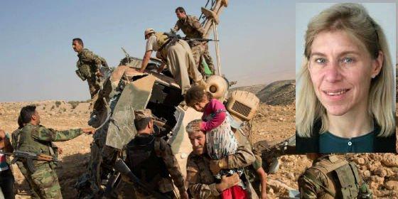 Una periodista del New York Times se estrella en helicóptero en Irak junto a una veintena de refugiados yazidíes