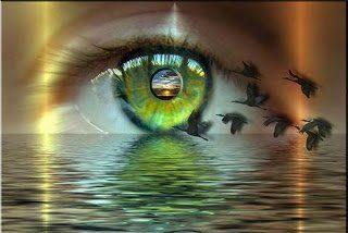 O olho do Espírito...