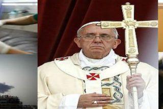 """Francisco insta a """"rezar fuerte"""" por la paz en Oriente Medio"""