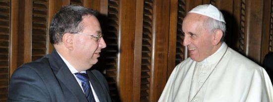 El Papa se suma a la campaña mundial por el control de armas