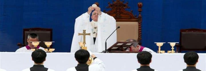 """El Papa recuerda a """"cuantos han perdido la vida en el naufragio del ferry 'Se Wol'"""""""