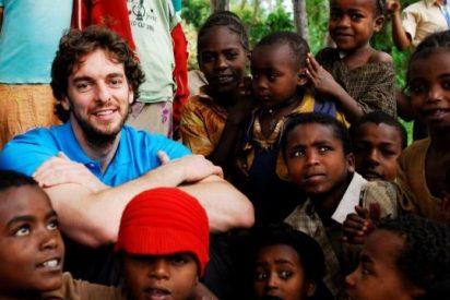El siempre generoso Gasol une su Fundacion a UNICEF para defender los derechos de la infancia
