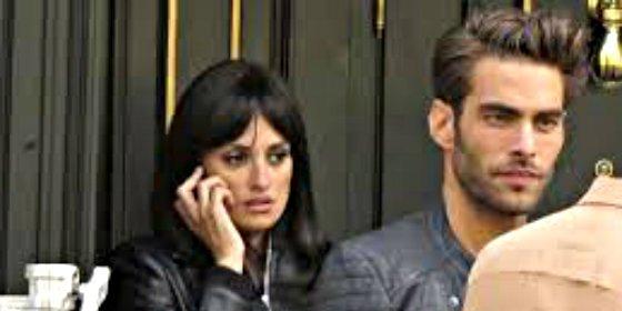 Penélope Cruz y Jon Kortajarena de rodaje en Madrid