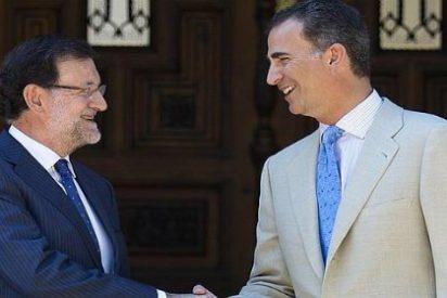 El ébola marca el primer despacho en Marivent entre el Rey Felipe VI y Rajoy
