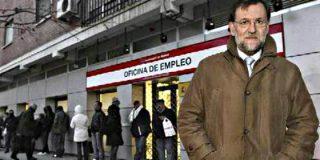 El paro, por debajo de la cifra que encontró Mariano Rajoy al llegar a La Moncloa