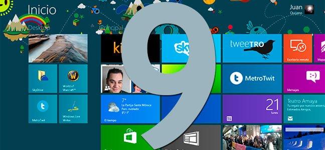 Microsoft dará gratis Windows 9 a los que ya tengan la versión 7, XP o Vista