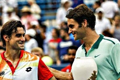El maestro Federer gana al guerrero Ferrer por decimosexta vez consecutiva