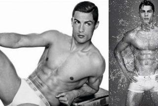Dejan en calzoncillos a Cristiano Ronaldo y le echan por encima un cubo de agua helada