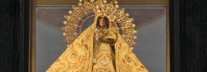 La Patrona de Cuba, en los jardines vaticanos