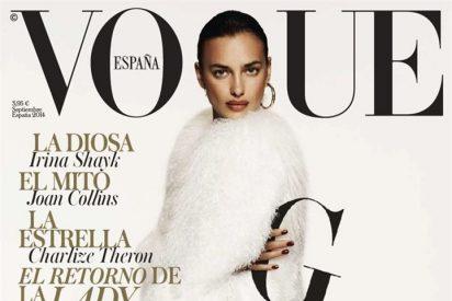 Irina Shayk de nuevo portada en Vogue