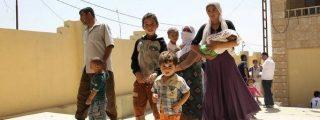 Los yihadistas detienen a un centenar de familias cristianas en Iraq y matan a los hombres
