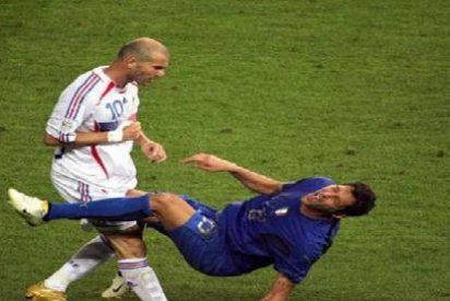 Materazzi hace el Ice Bucket Challenge y nomina a... ¡Zidane!