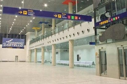 El aeropuerto de Castellón remonta pérdidas: ahora 'solo' tira por el desagüe 3,7 millones anuales