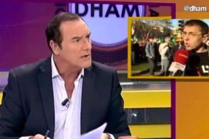 """Jiménez arranca la piel de cordero de Podemos: """"Su cara real no es la de las tertulias, es la de los vídeos"""""""