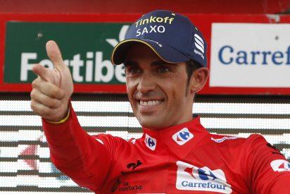 El resucitado Alberto Contador demuestra quien es el 'Jefe' en la Vuelta a España