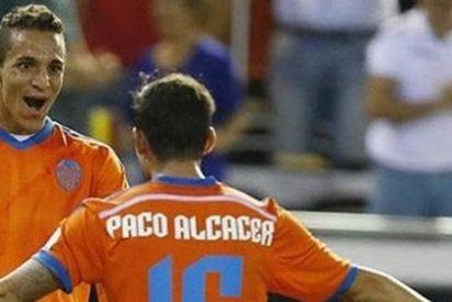 El Valencia sigue goleando y hunde al Getafe (0-3)
