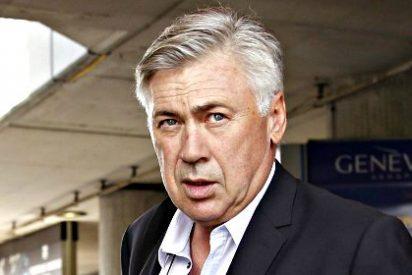 """Carlo Ancelotti: """"No oigo los pitos pero sí oigo los cánticos; quiero ser positivo"""""""
