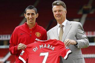 Di María marca su primer gol con el Manchester United