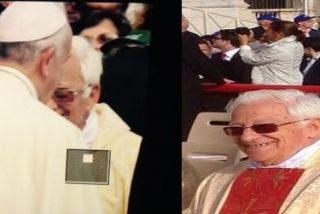 Francisco anima al Padre Ángel y Mensajeros de la Paz a seguir trabajando por los demás