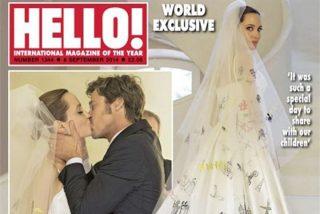 La boda de Angelina Jolie Y Brad Pitt en Hello! y People