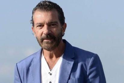 El guapo Antonio Banderas se echa a llorar al hablar de su divorcio de Melanie Griffith