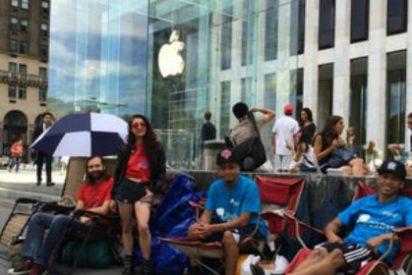 Miles de personas hacen cola para comprar el iPhone 6… tres días antes de su presentación
