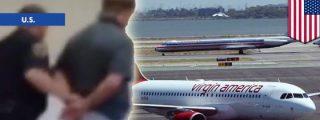 [Vídeo] Se masturba en un avión diciendo 'guarradas' y obliga a un aterrizaje de emergencia
