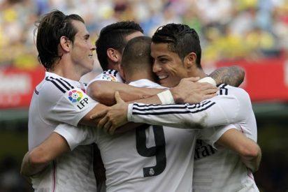 El Real Madrid se merienda al Villarreal derrochando clase y eficacia arriba