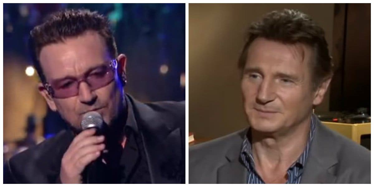 Bono y Liam Neeson trabajan en el guión de una película sobre el panorama musical irlandés