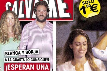 Borja Thyssen y Blanca Cuesta, a la cuarta, papás de una niña