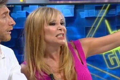 "Una desenfrenada Ana Obregón desata la locura con su accidente sexual: ""¡Uy! me he corrido"""
