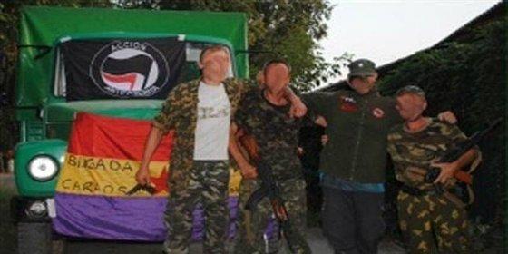 Resucitan las Brigadas Internacionales para luchar en Ucrania contra el 'Cuarto Reich'