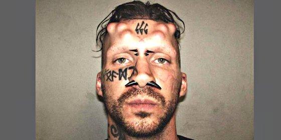 Condenado a cadena perpetua 'Satanás', el asesino con cuernos y un 666 tatuado en la frente